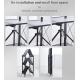 Foldable Carbon Steel Multi Purpose Organizer 5Layer