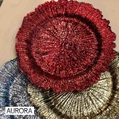 Buy Aurora Charger Plate  Red online at Shopcentral Philippines.