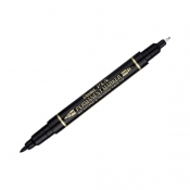 Buy Pentel Twin Permanent Marker TW N75W AE Black online at Shopcentral Philippines.