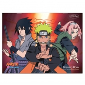 """Buy Sterling Naruto Drawing Book 9"""" x12"""" online at Shopcentral Philippines."""