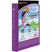 Buy Elephant 771X A4 ZPresentation Binder 20's- Refillable online at Shopcentral Philippines.