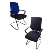 Buy Office Mid Back Chair - Blue  online at Shopcentral Philippines.