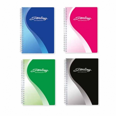 Buy Sterling Super Series Spiral Notebook 685 Set of 4 online at Shopcentral Philippines.