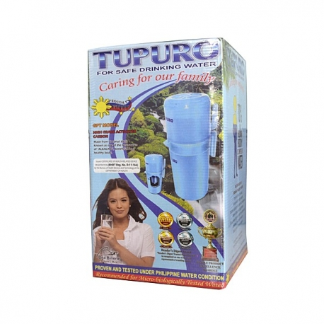 Buy TUPURO Water Purifier GPT Pitcher online at Shopcentral Philippines.