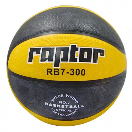 Buy Raptor Basketball RB7-300 (Yellow & Black) online at Shopcentral Philippines.