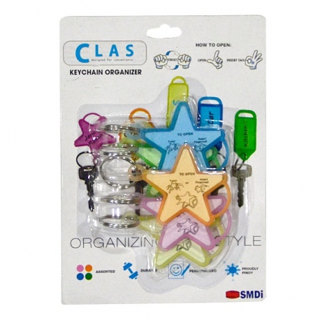 Buy CLAS Keychain Organizer Star online at Shopcentral Philippines.