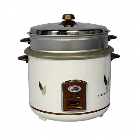 Buy Kyowa KW-2026 2.8L Rice Cooker  w/ Steamer online at Shopcentral Philippines.