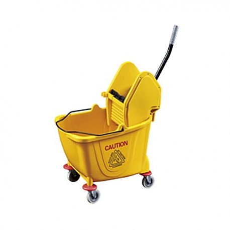 Buy 36L Down Press Single Bucket Mop Wringler online at Shopcentral Philippines.
