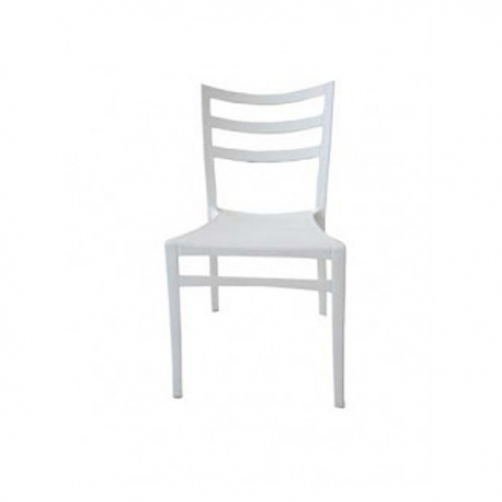 Buy STELLA COLORED CHAIR WHITE online at Shopcentral Philippines.