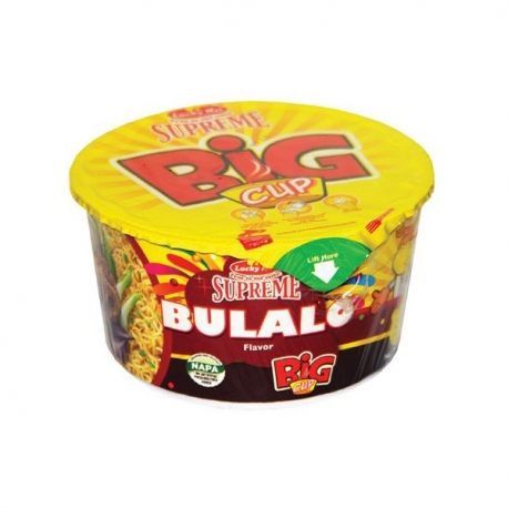 Buy Lucky Me Supreme Bulalo Cup 65g online at Shopcentral Philippines.