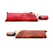 Buy Buy 1 Take 1 Automatic Foldable Umbrella Set 5 (Maroon/Brown) online at Shopcentral Philippines.
