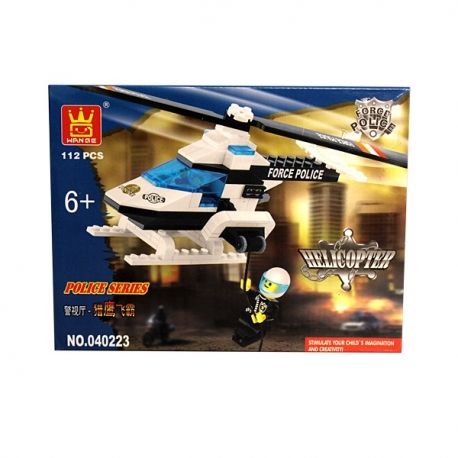 Buy Wange Bricks Police Series - Helicopter online at Shopcentral Philippines.