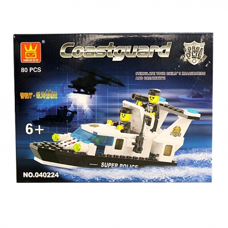 Buy Wange Bricks Police Series - Coast Guard online at Shopcentral Philippines.