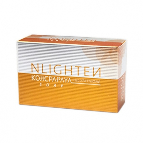 Buy Nlighten Kojic Papaya soap with Glutathione Soap 135g online at Shopcentral Philippines.
